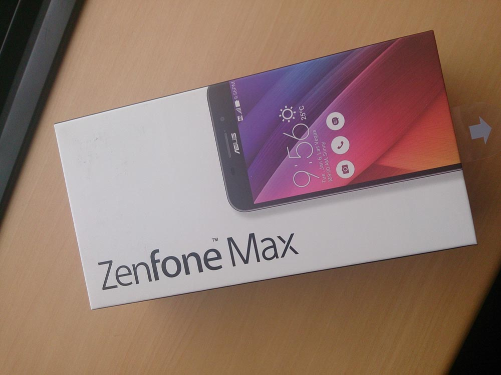 ZenfoneMAXは大容量バッテリーが特徴のSIMフリースマホ